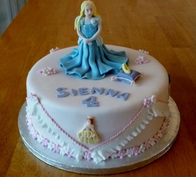Girl Th Birthday Cake