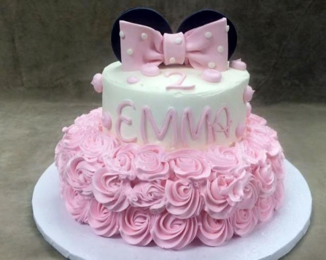 Minnie Mouse Second Birthday Cake Image Inspiration of Cake and