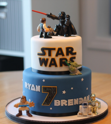 Newest star wars cakes pictures.PNG