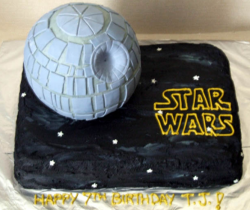 Large black Star War cake photos.PNG