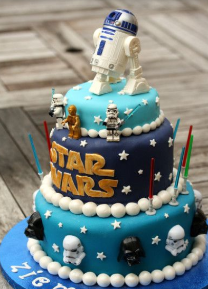 Newest Kids Star Wars Cakes Ideas Png