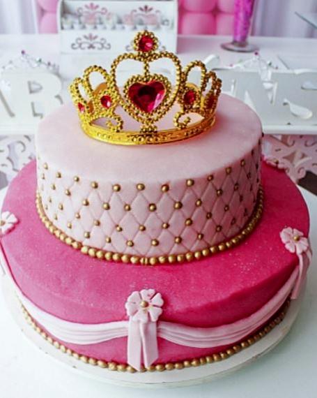 Birthday Tiara Cakes For Girls