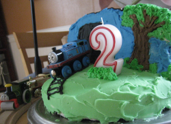 Thomas the train cakes for birthday with kids theme cakes.PNG