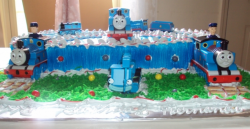 Blue Thomas and friends birthday cakes pictures.PNG