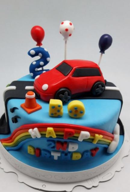 Birthday cake for 2 year old boy