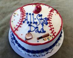 All-Star Baseball Theme Cake for Father's Day.JPG