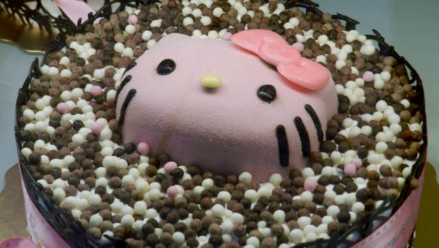 Hello Kitty Ice Cream Cake.JPG