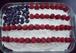 Homemade 4th of July cake decorated with fresh berries.JPG