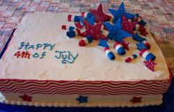 Large July 4th with stars decoration.JPG