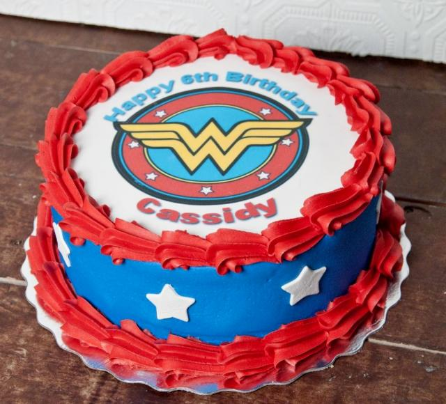 Wonder Woman Symbol Birthday Cake Jpg Hi Res 720p Hd