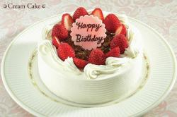 Cream Birday Cake with an elegant touch.jpg