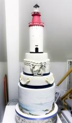 Lighthouse theme 4 Tier Cake.JPG