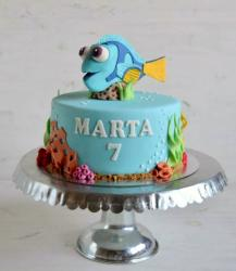 Finding Dory 7th Birthday Cake.JPG
