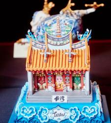 Taiwanese Opera Theater Sculpted Cake.JPG