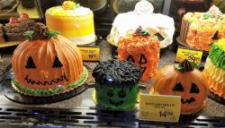 Halloween Cakes Found at Supermarket with Pricing