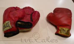 Everlast red boxing gloves cake.JPG