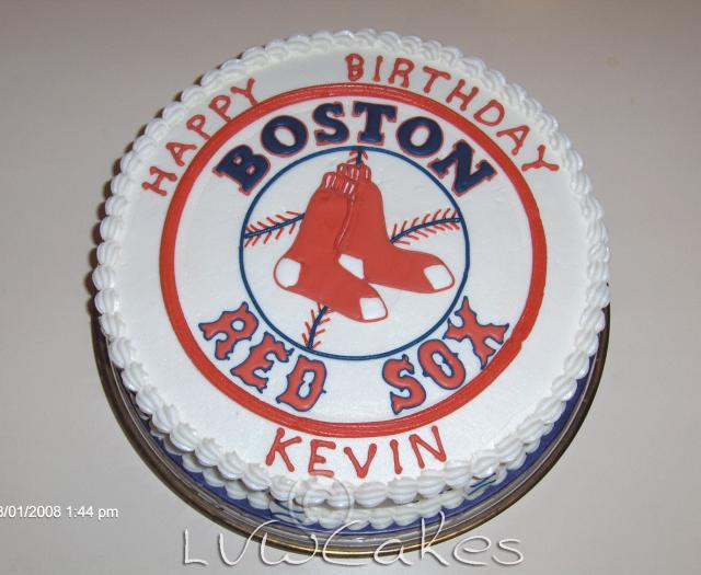 Magnificent Boston Red Sox Birthday Cake Jpg 1 Comment Hi Res 1080P Hd Personalised Birthday Cards Paralily Jamesorg