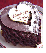 Chocolate valentine cake with chocolate cake decoration.PNG