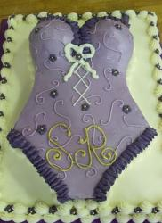 Lavender lingerie cake for bridal shower.JPG