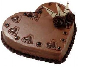 Romantic chocolate dessert with valentine cake  theme.PNG