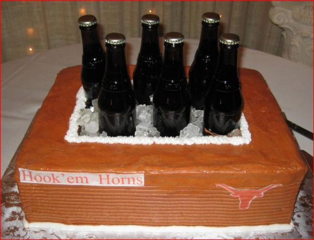 Unique Groom's Cake With Beer Storage Area.jpg (3 Comments