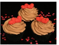 Valentine Double Chocolate Muffins with cute small hearts.PNG