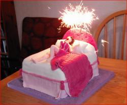 Funny sexy woman in bed birthday cake.jpg