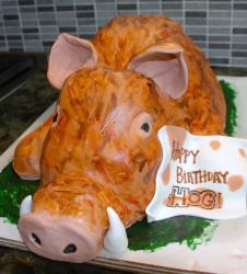 Roasted whole pig birthday cake.JPG