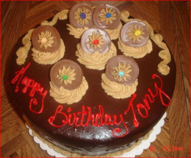 Reeses Peanut Butter Ice Cream Birthday Cake Jpg Hi Res