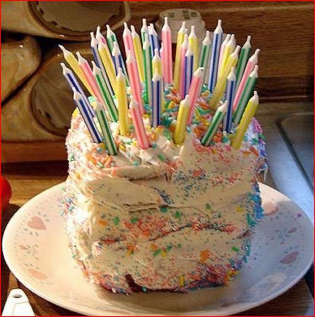Pictures Of Birthday Cakes With Many Candles : Birthday cake with many many candles.jpg Hi-Res 720p HD