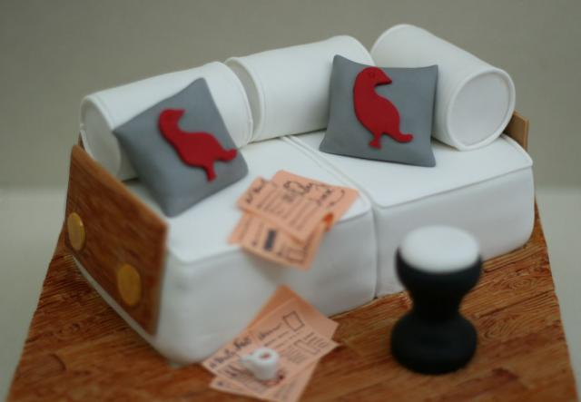 White sofa and side table cake.JPG