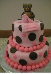 Baby Girl Shower Cake with teddy bear topper.PNG