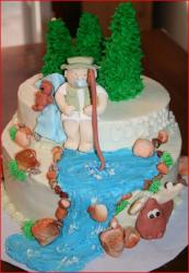 Outdoors fisherman and stream baby shower cake.jpg