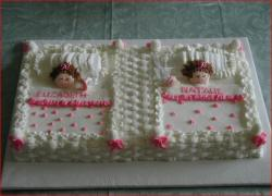 Twin girls baby shower cake.jpg