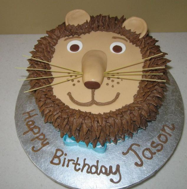 Lion Face With Mane Birthday Cake Jpg 1 Comment Hi Res