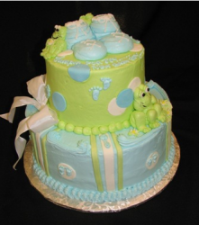 Froggie Baby Shower Cake Photo.PNG