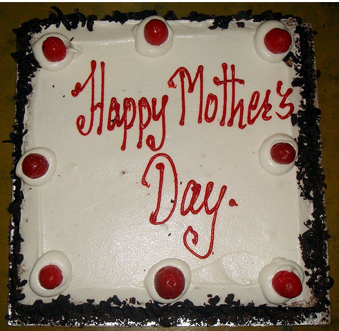 Square Home Made Happy Mother S Day Cake Png 1 Comment