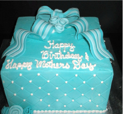 Bright blue Happy Birthday and Mother's Day Cake pictures.PNG
