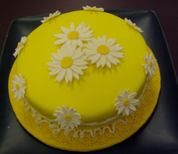 Bright yellow mother's day with daisy flowers.PNG