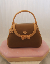 Brown Handbag cake for mother's day.PNG