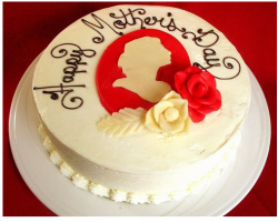 Happy Mother's Day in white and red cake decor colors.PNG