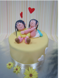 Mother's Day Cake with cute cake topper.PNG