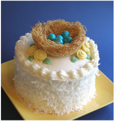 Mother's Day Mama Bird Cake Nest with eggs.PNG
