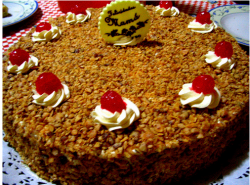 Nutty happy mothers day cake.PNG