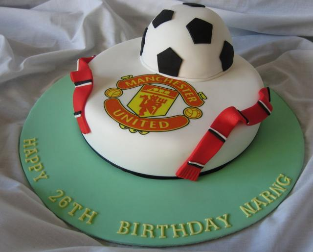 Manchester United Birthday Cakeg Hi Res 720p Hd