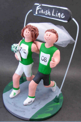 Marathon Wedding Cake Topper.PNG