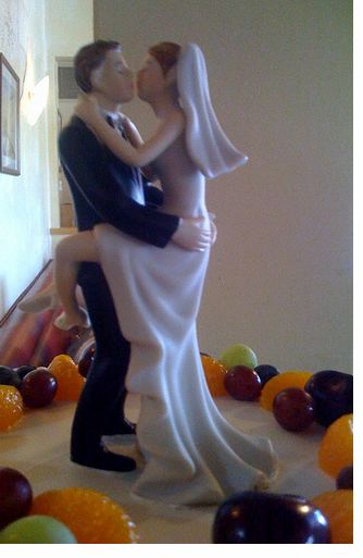 Naughty Wedding Cake Topper Picture Png 1 Comment