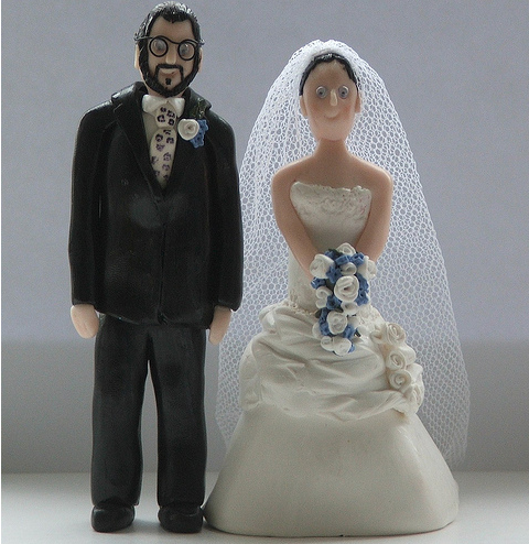 personalised bride and groom wedding cake toppers png
