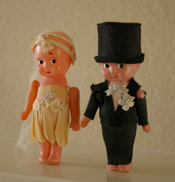 Wedding Cake Toppers Vintage: Vintage Doll Wedding Cake Toppers Picture.PNG