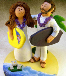 Wedding Cake Topper for a Surfing Couple.PNG